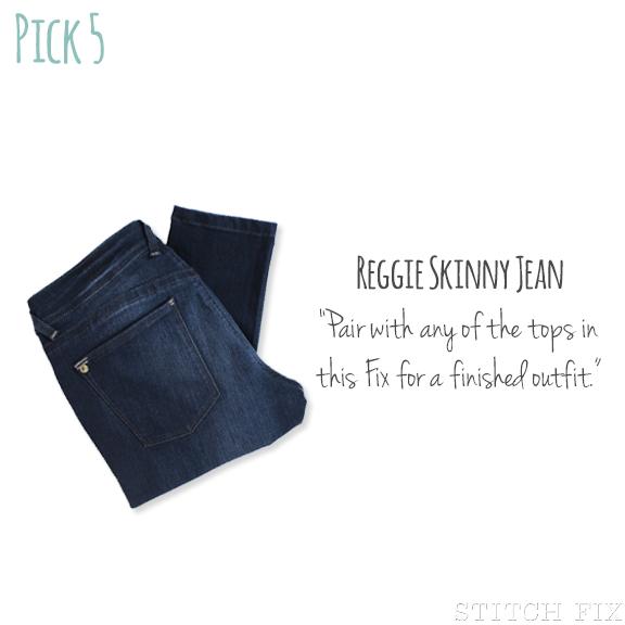5 Reggie Skinny Jean