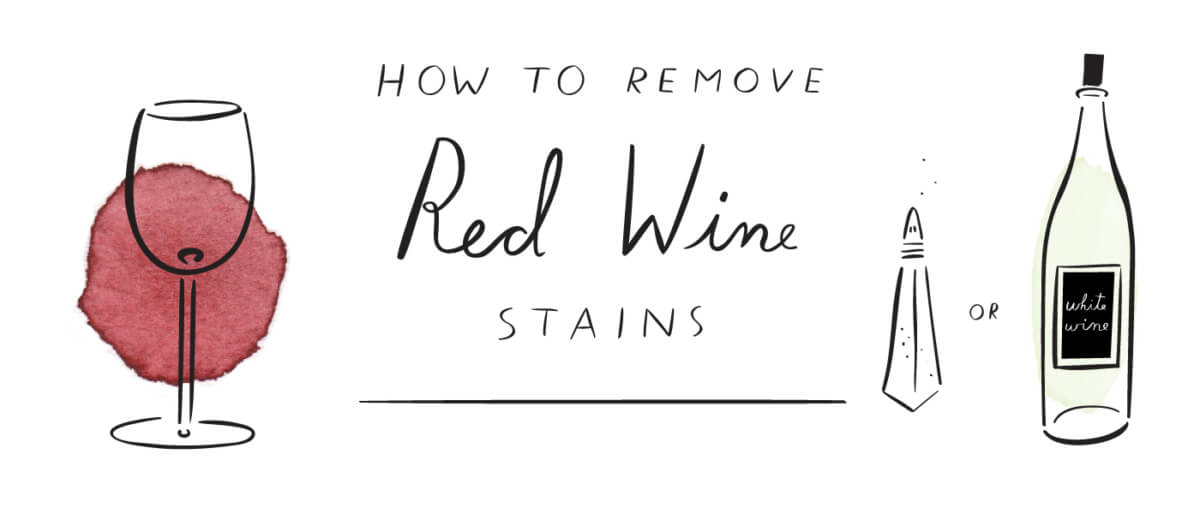 How to remove summer stains for How to remove red wine stain from cotton shirt